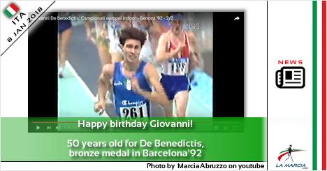 Buon compleanno Giovanni! 50 anni per De Benedictis, medaglia di bronzo a Barcellona'92