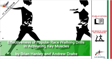 Efficacia degli esercizi comuni della marcia nell'attivazione dei muscoli chiave