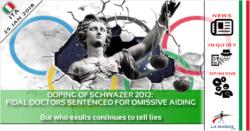Doping di Schwazer 2012: medici FIDAL condannati. Ma chi esulta continua dire bugie
