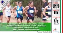 Perseus Karlstrom e Beki Smith vincono ad Adelaide la prima prova del IAAF RW Challenge