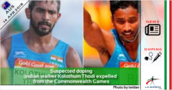 Sospetto doping: marciatore indiano Kolothum Thodi espulso dai Giochi del Commonwealth