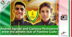 Andrea Agrusti e Gianluca Picchiottino entrano nelle Fiamme Gialle