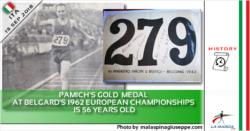 L'oro di Pamich agli Europei di Belgardo 1962 compie 56 anni