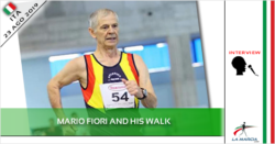 Mario Fiori and his walk