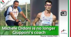 Michele Didoni non è più l'allenatore di Giupponi