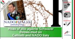 Il complotto bufala contro Schwazer getta fango su Gallitelli e NADO Italia